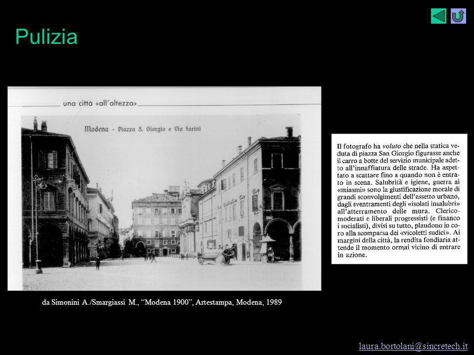 """Modena e i rifiuti I rifiuti e Modena laura.bortolani@sincretech.it 1997-98 cl. seconda A I.G.E.A. prof.ssa Laura Bortolani Fregni Piazza Grande da """"M"""