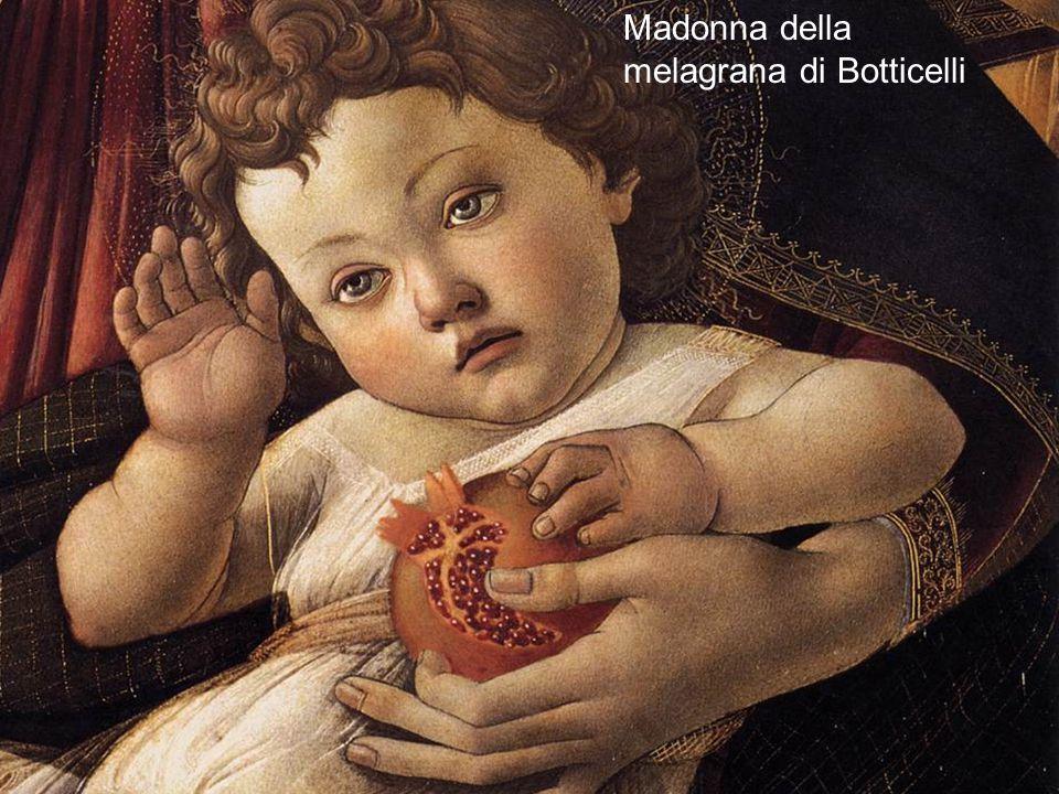 Anche il melograno è un simbolo F. Meneghetti 201215 Madonna della melagrana di Botticelli