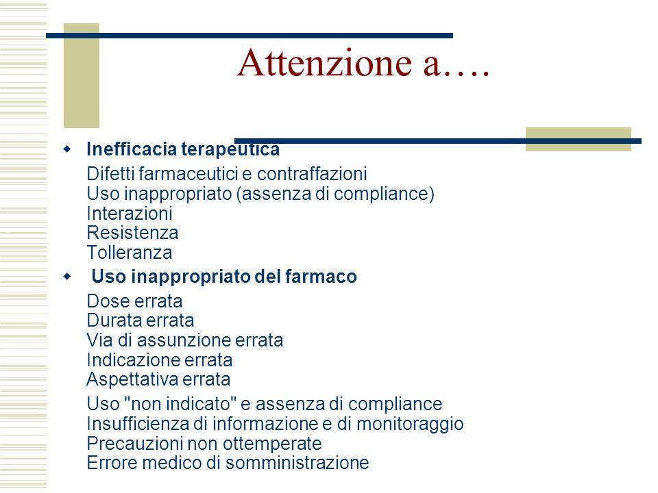 L'Informazione sul farmaco  Consulenza orientata direttamente al paziente: quale farmaco, quando, con quali precauzioni, quali avvertenze  Servizio