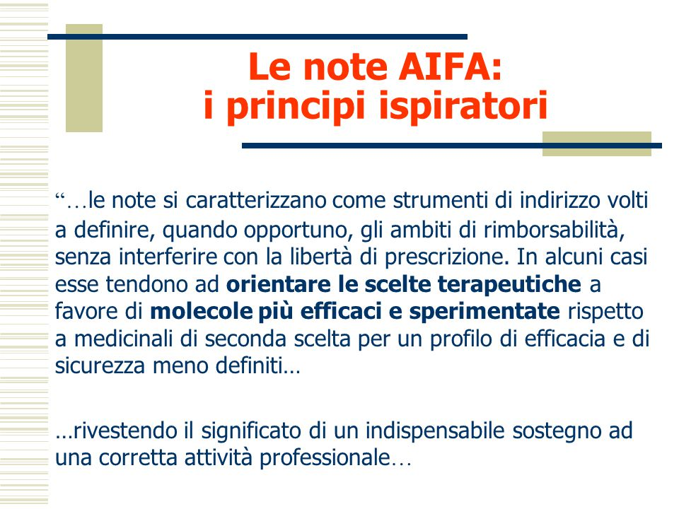 I coxib Note AIFA e dati prescrittivi ASL ROMA D A.