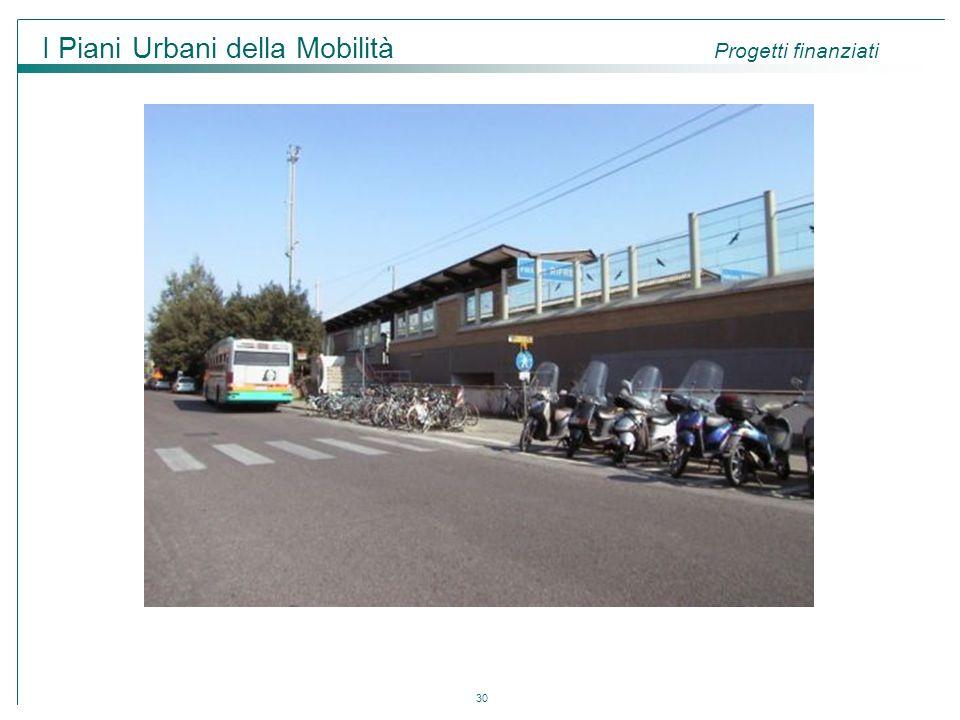 30 I Piani Urbani della Mobilità Progetti finanziati
