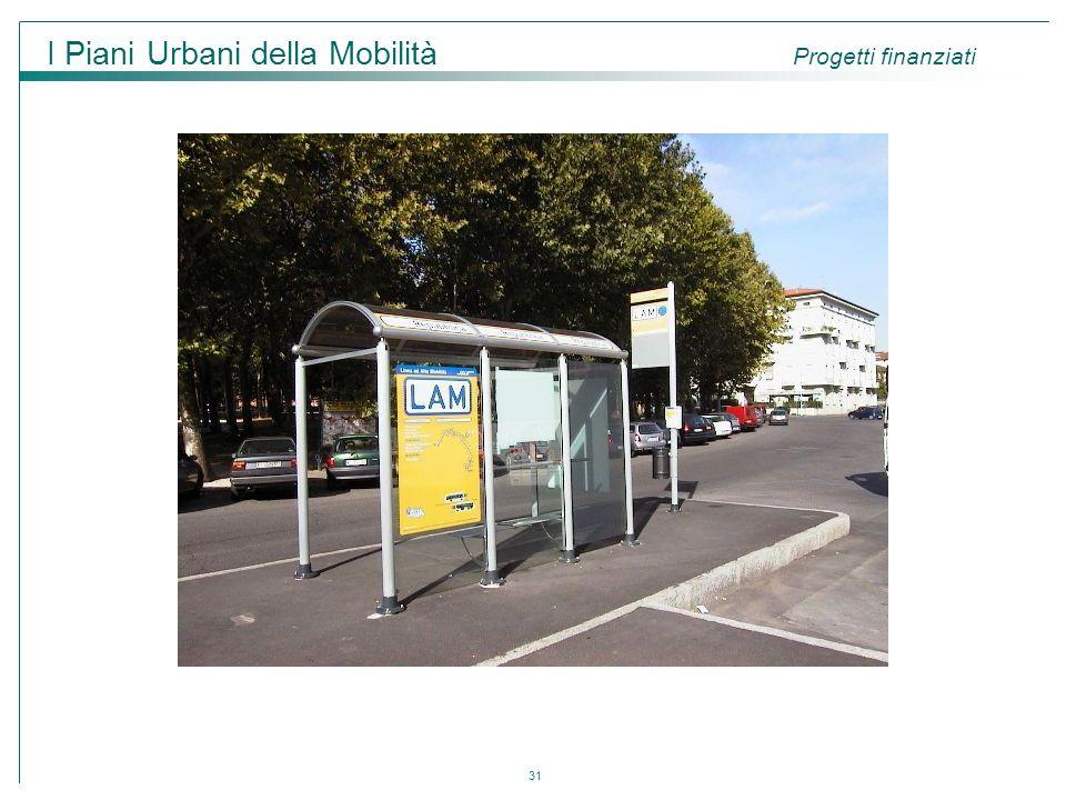 31 I Piani Urbani della Mobilità Progetti finanziati