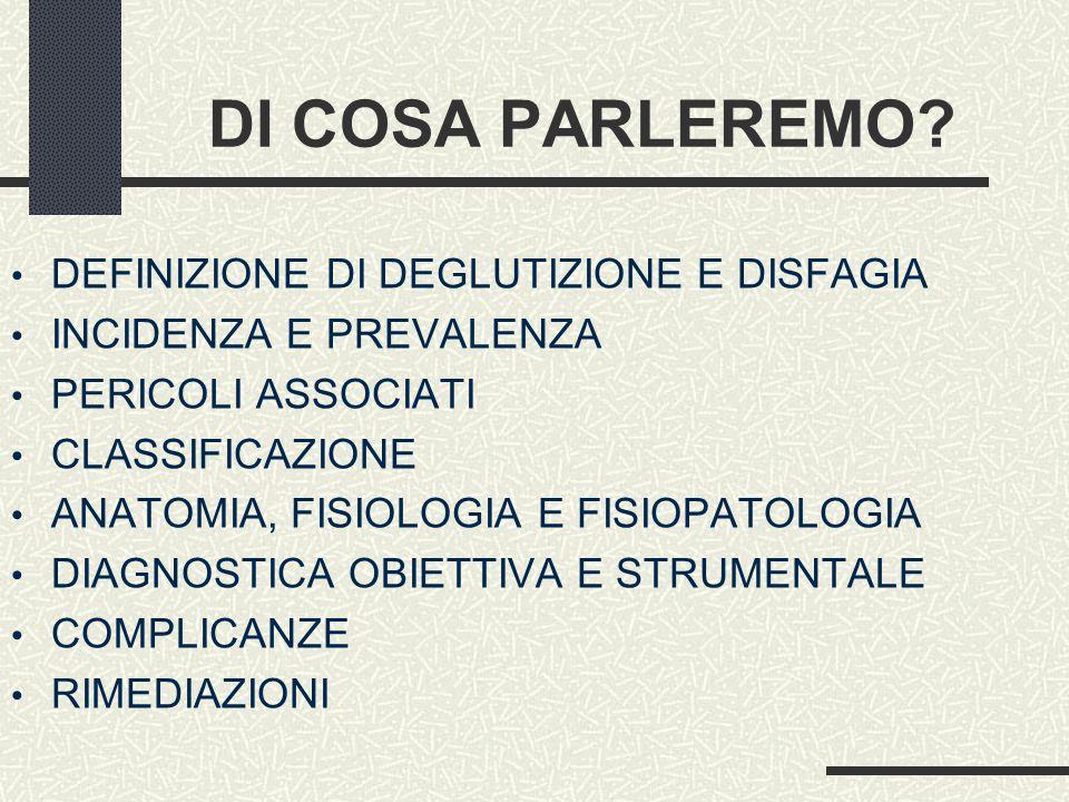 DI COSA PARLEREMO.