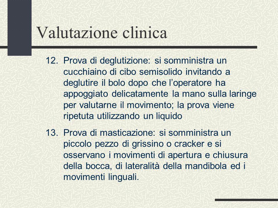 Valutazione clinica 12.