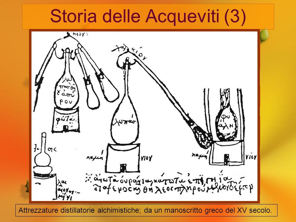 Storia delle Acqueviti (3) Come medicamento appunto fu largamente usata, in dosi massicce anche per i bambini, nei periodi di pestilenza (es. il Manzo