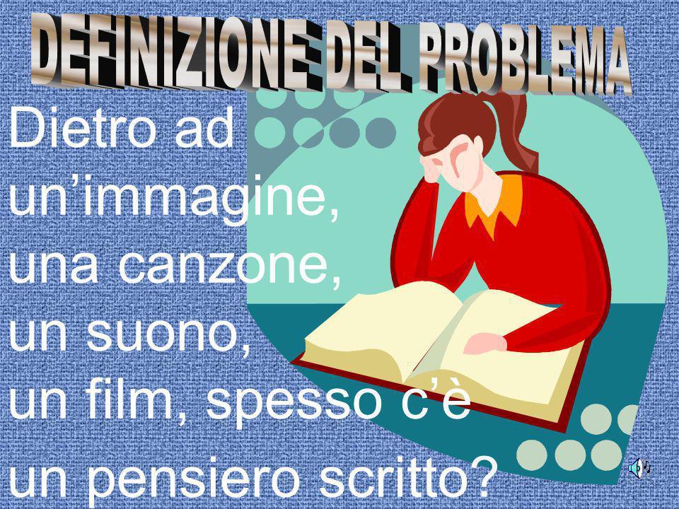 MATERIE COINVOLTE: ITALIANO, FILOSOFIA, MUSICA, LINGUE, ARTE, INFORMATICA Classi target: 3° anno Sec.