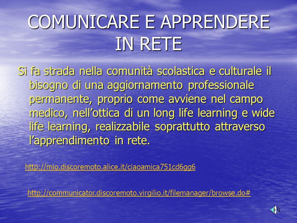 COMUNICAZIONE E NUOVE TECNOLOGIE DIGITALI Il bisogno ancestrale dell'uomo di comunicare in maniera efficace e con immediatezza ha dato luogo al progre