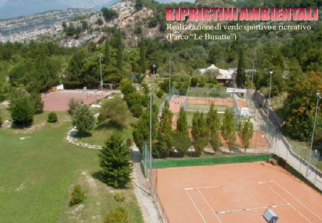 """Realizzazione di verde sportivo e ricreativo (Parco """"Le Busatte"""")"""