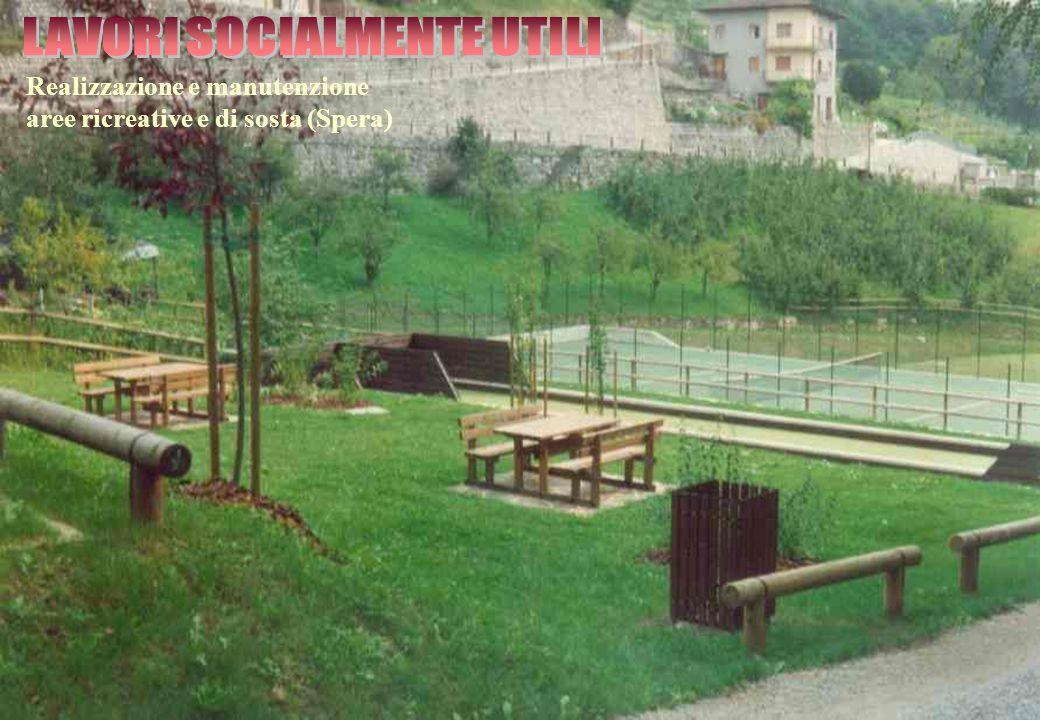 Realizzazione e manutenzione aree ricreative e di sosta (Spera)