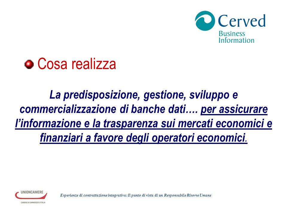 La predisposizione, gestione, sviluppo e commercializzazione di banche dati…. per assicurare l'informazione e la trasparenza sui mercati economici e f
