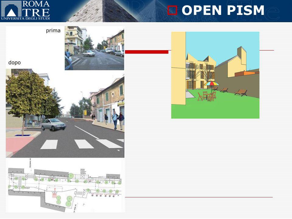 OPEN PISM Corso online in Progettazione Interattiva Sostenibile e Multimedialità RIQUALIFICAZIONE DI VIA PAPARESCHI PRIMA……….