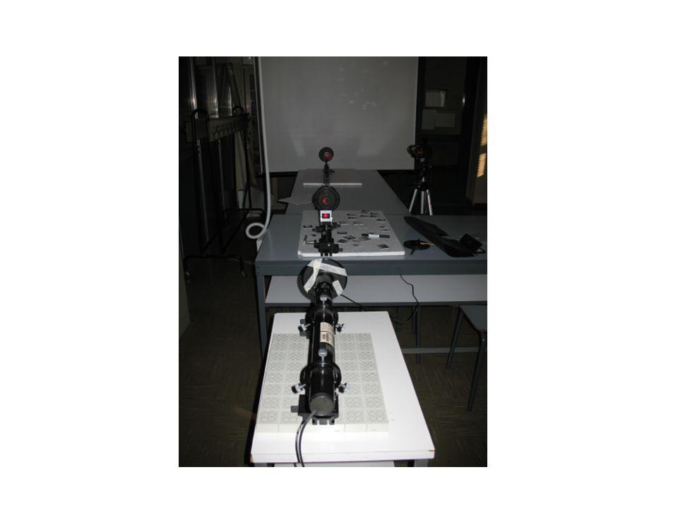 Microscopio a proiezione: alcuni risultati