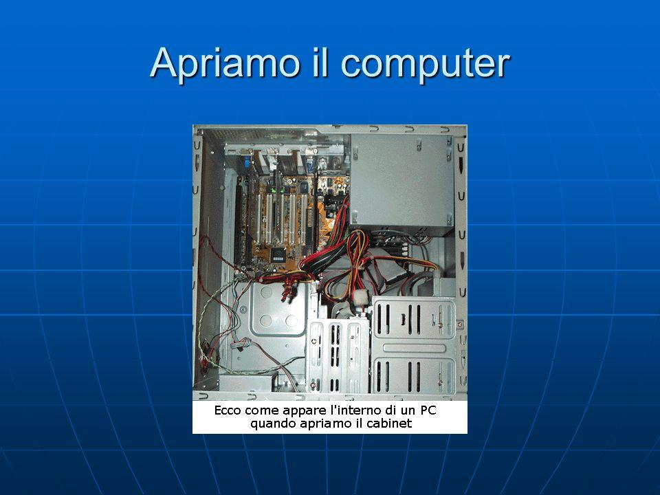 Apriamo il computer