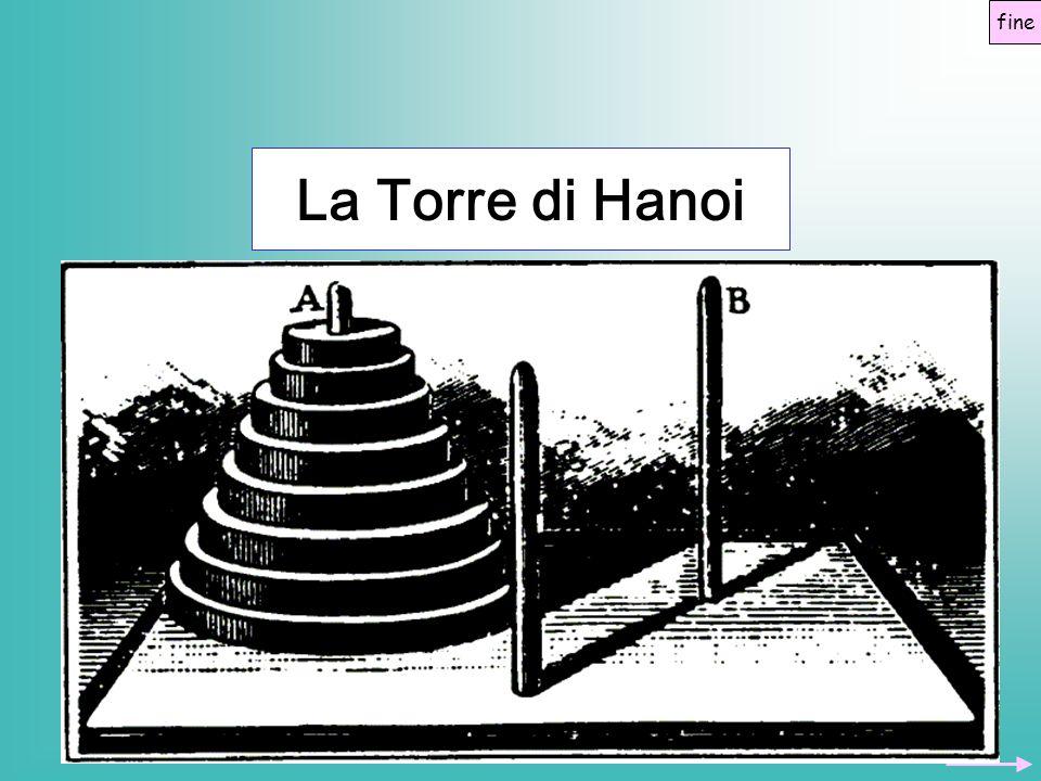 Il gioco della Torre di Hanoi fu inventato dal matematico francese Eduard Lucas nel 1883, inizialmente con una torre di otto dischi fine