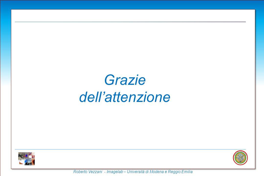 Roberto Vezzani - Imagelab – Università di Modena e Reggio Emilia Grazie dell'attenzione