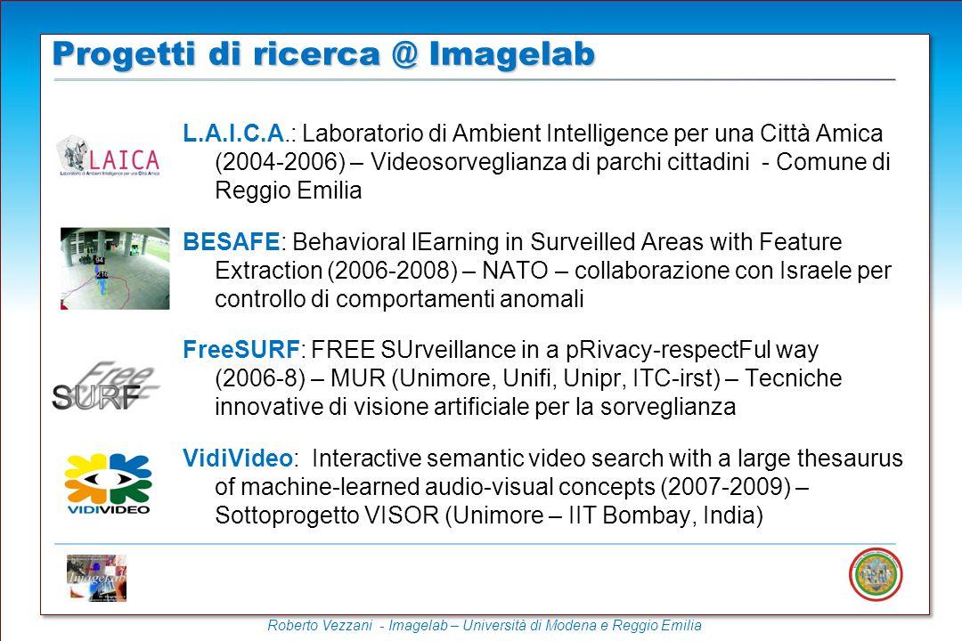 Roberto Vezzani - Imagelab – Università di Modena e Reggio Emilia