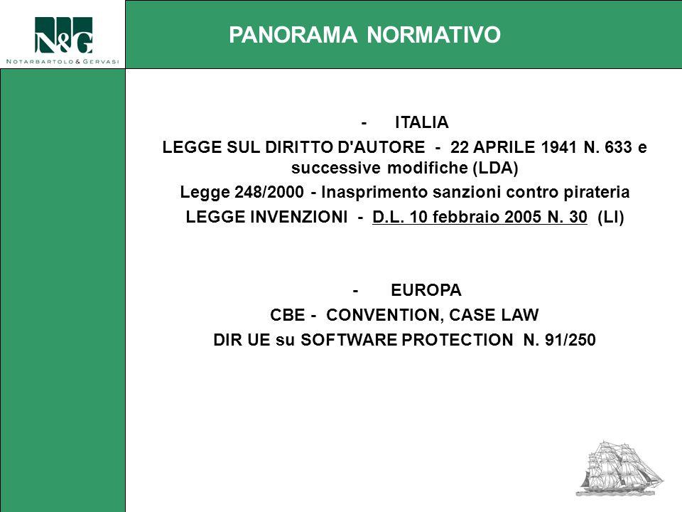 - ITALIA LEGGE SUL DIRITTO D AUTORE - 22 APRILE 1941 N.