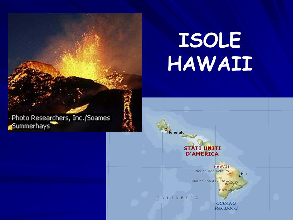 ISOLE HAWAII