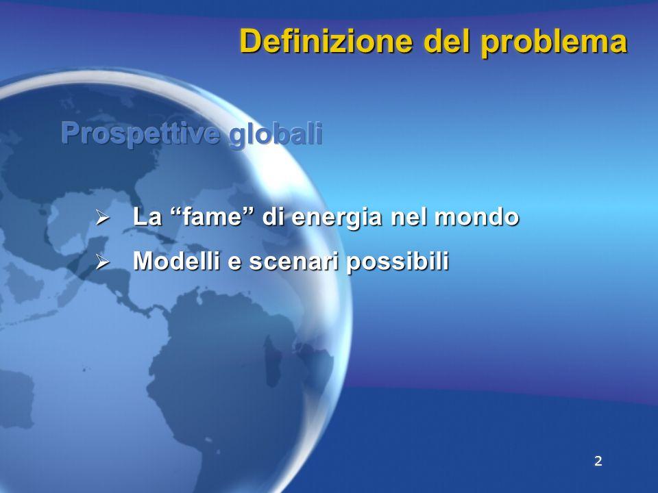 2 Definizione del problema