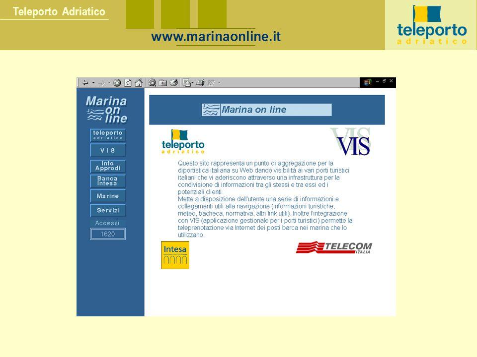Teleporto Adriatico www.marinaonline.it