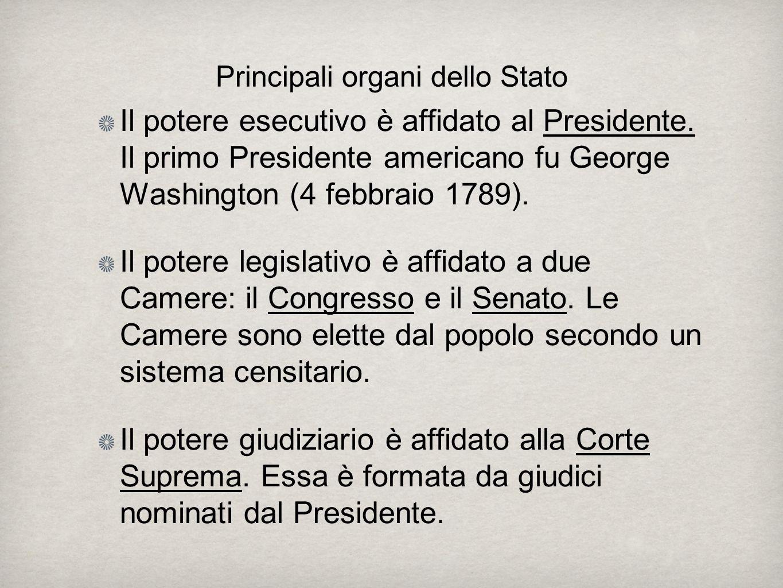 Il potere esecutivo è affidato al Presidente.