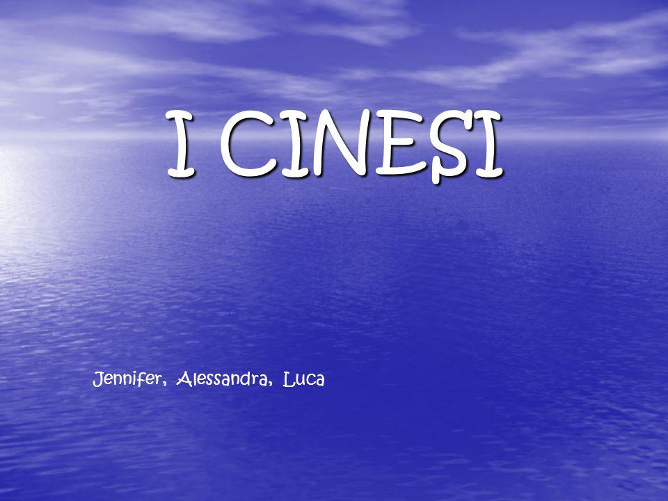 I CINESI Jennifer, Alessandra, Luca