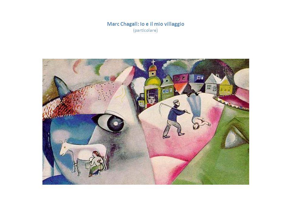 Marc Chagall: Io e il mio villaggio (particolare)