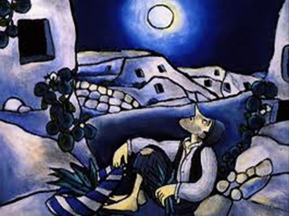 Giufà una notte, passando vicino ad un pozzo, vide la luna riflessa nell'acqua. Pensando che fosse caduta dentro decise di salvarla. Prese un secchio
