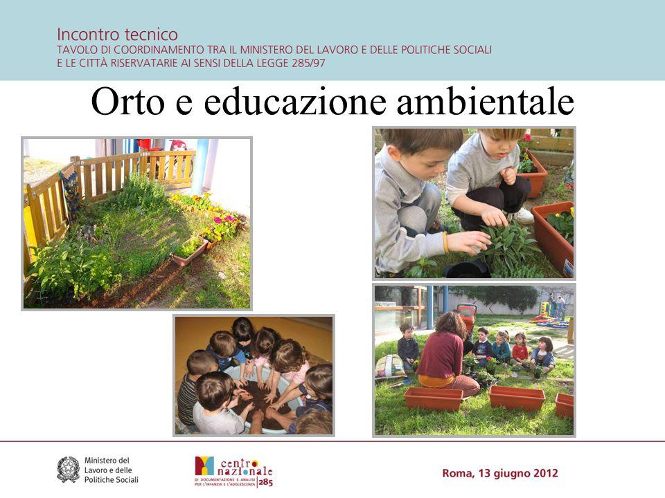 Orto e educazione ambientale