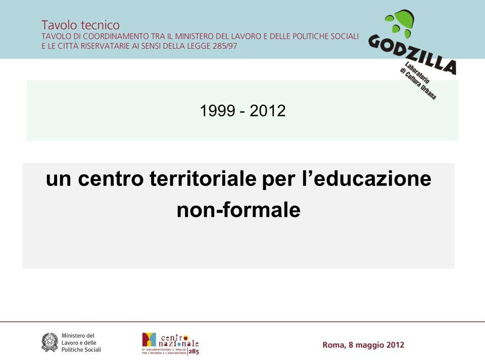 1999 - 2012 un centro territoriale per l'educazione non-formale