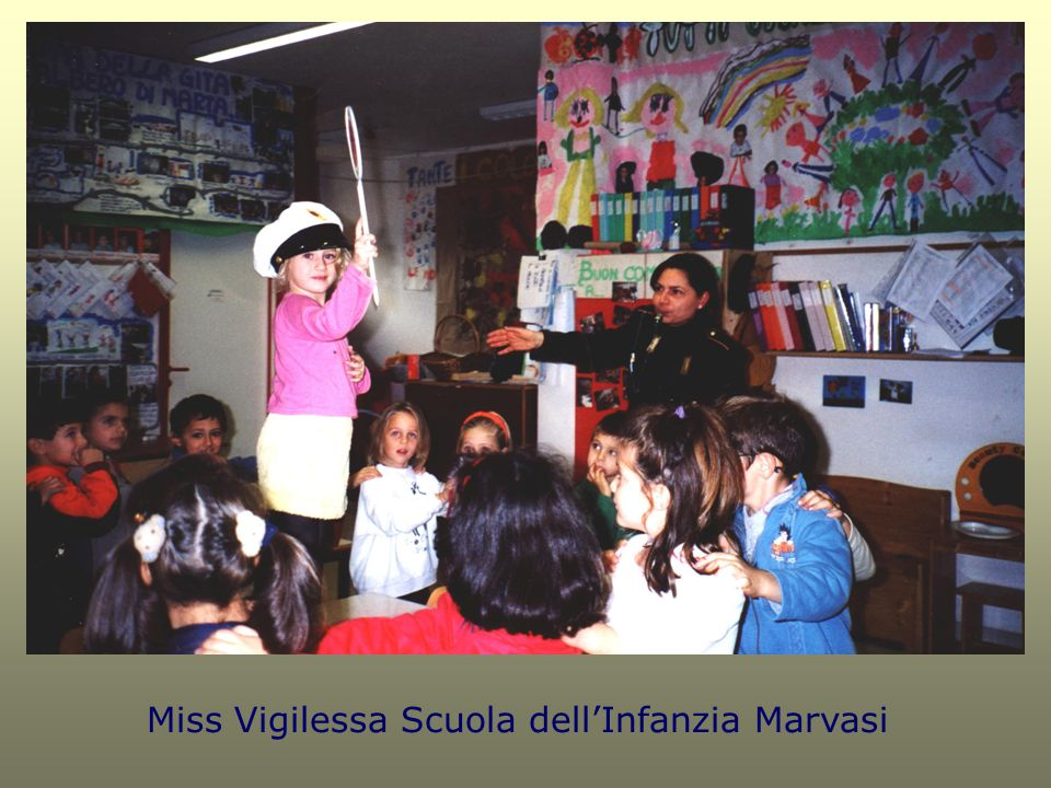 Miss Vigilessa Scuola dell'Infanzia Marvasi