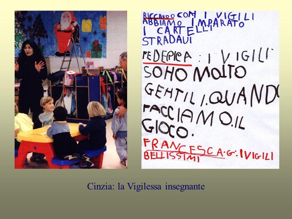 Cinzia: la Vigilessa insegnante