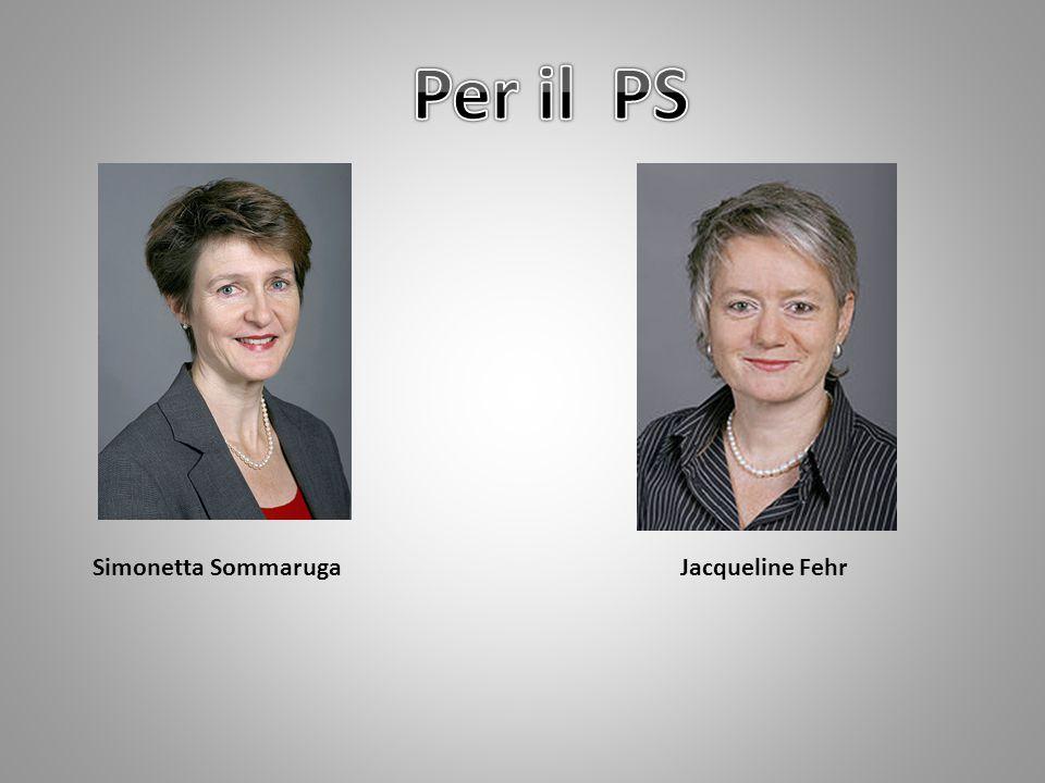 Simonetta SommarugaJacqueline Fehr