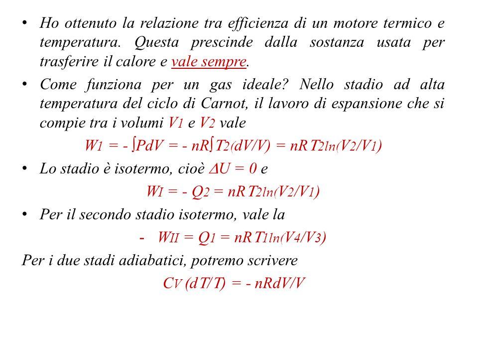 Ripetendo l'operazione, risulta (non c'è trucco nel passare da g(T 1,T 2 ) ad h(T 1 )) |Q 1 |/|Q 2 | = h(T 1 )/h(T 2 ) Importante.