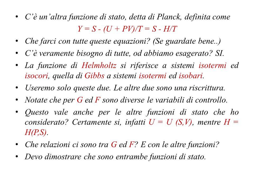Siccome DQ syst = - Dq amb Lo stesso si può dire per TdS; varrà la TdS amb + TdS syst > 0 Che è una riscrittura del criterio valido per sistemi isolati.