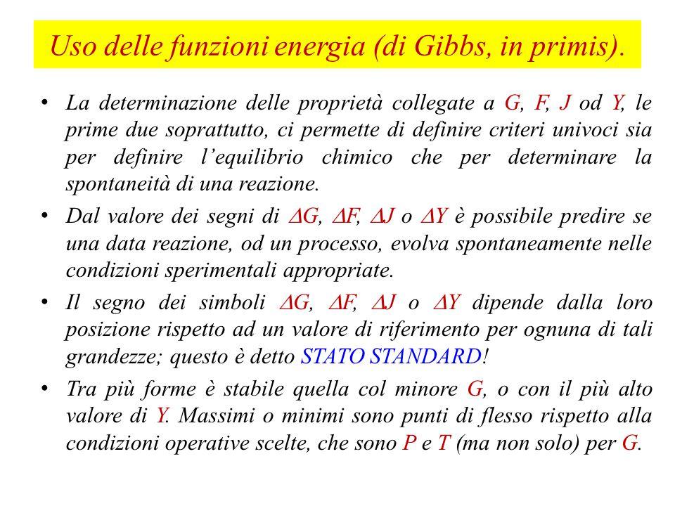 Quarto Esercizio Dimostrate che (dF/dn) V,T = (dG/dn) P,T Partite dalle relazioni che conoscete per F e G, in forma differenziale, ed aggiungete ad entrambi i differenziali un termine  dn.