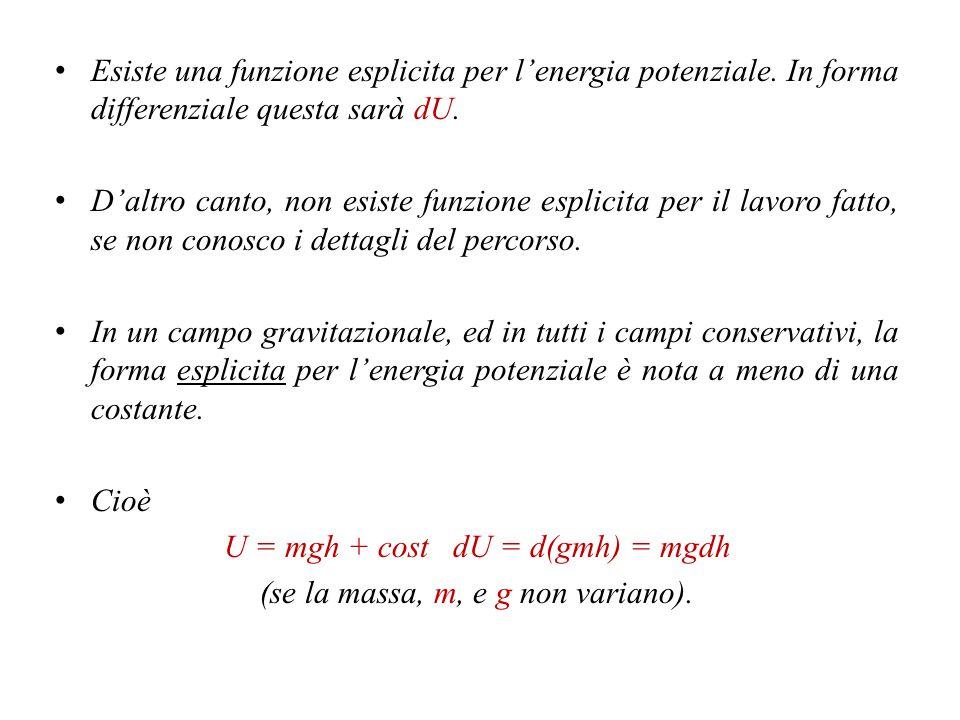 I differenziali esatti.Molte proprietà termodinamiche sono ottenibili con tale formulazione.