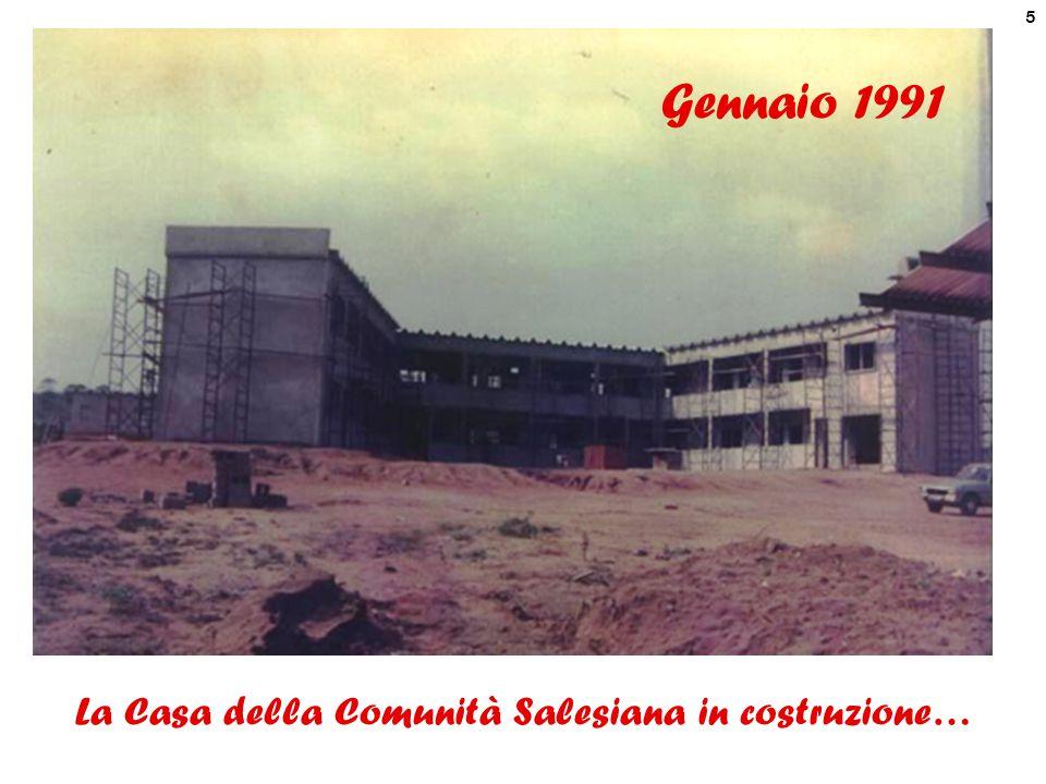 6 1 2 1. Casa Comunità Salesiana 2. Salone Multiuso Maggio 1991 1