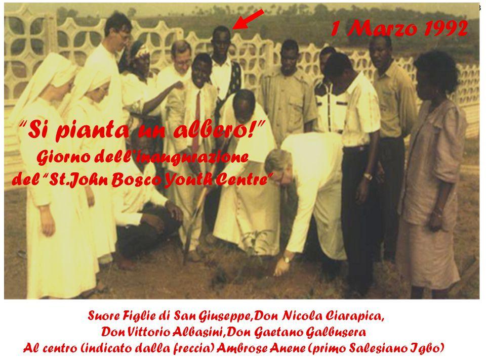 9 3 2 4 5 6 7 1 1.Casa Comunità Salesiana 2. Salone Multiuso 3.