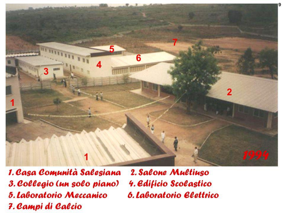 10 Costruzione del secondo piano del Collegio Ottobre 1999