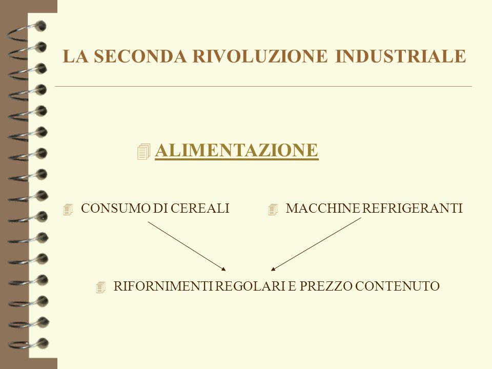LA SECONDA RIVOLUZIONE INDUSTRIALE 4 Seconda parte del secolo XIX 4 petrolio 4 Innovazioni tecnologiche 4 Motore a scoppio 4 elettricità elettricità 4