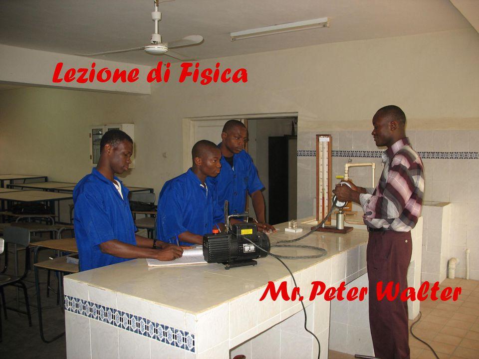 14 Mr. Peter Walter Lezione di Fisica