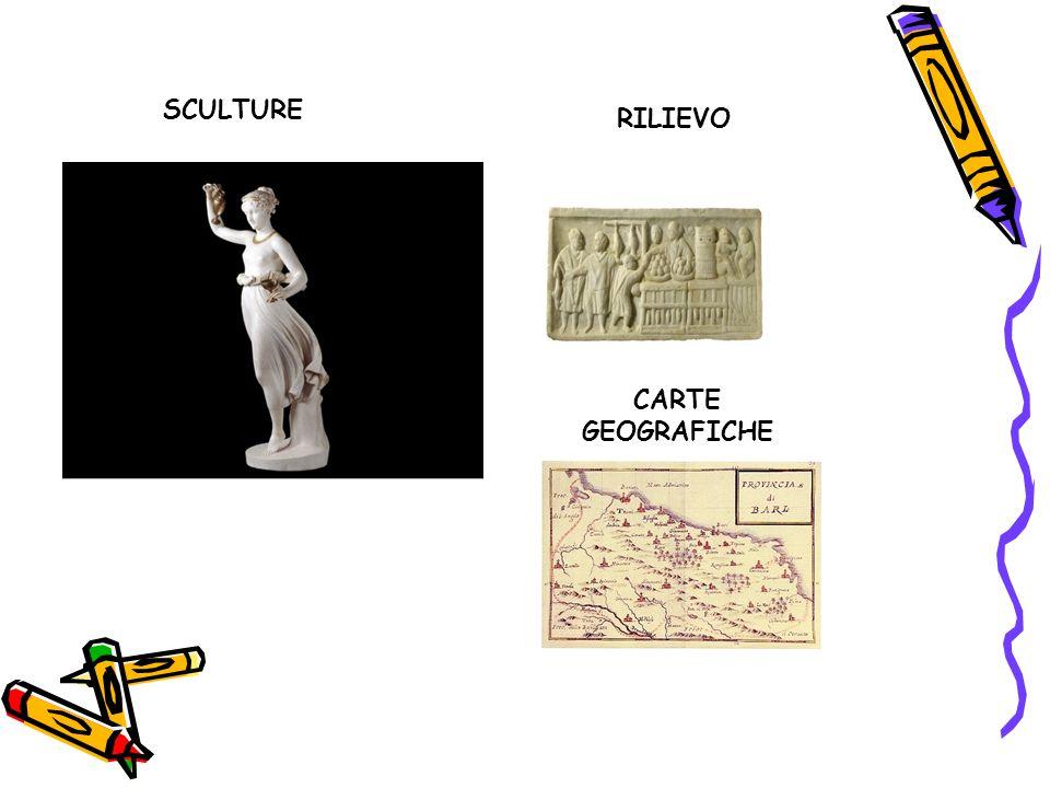 SCULTURE RILIEVO CARTE GEOGRAFICHE