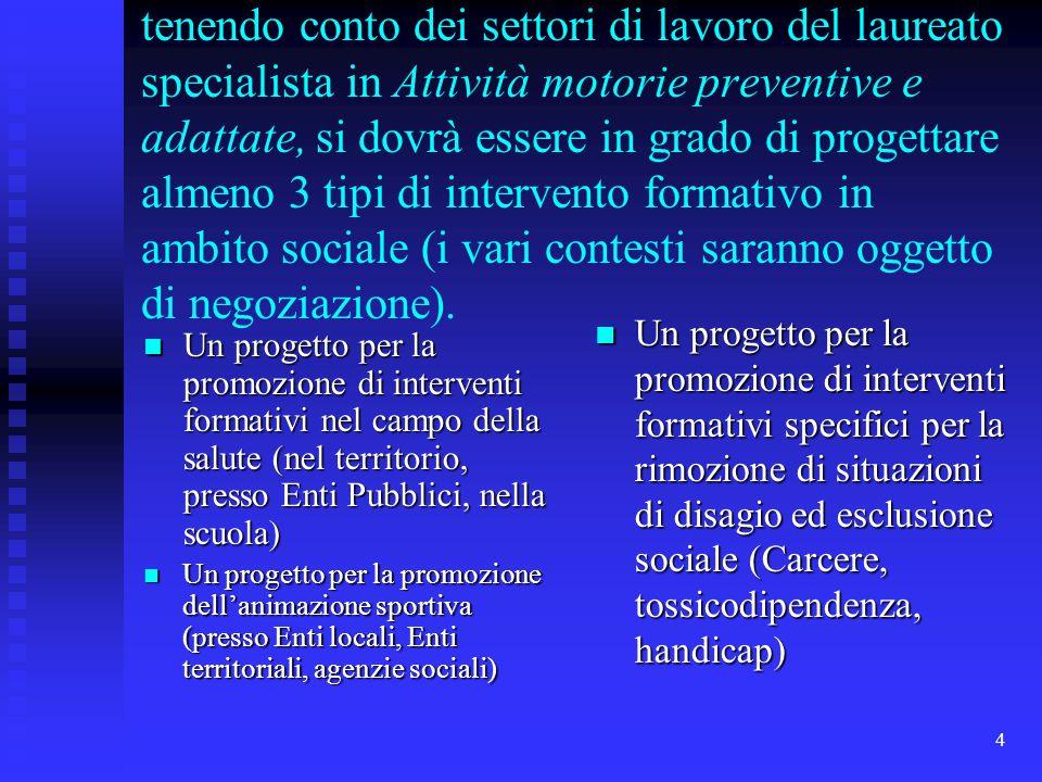 5 SONO PREVISTI INTERVENTI DI ESPERTI, tra cui il Prof.