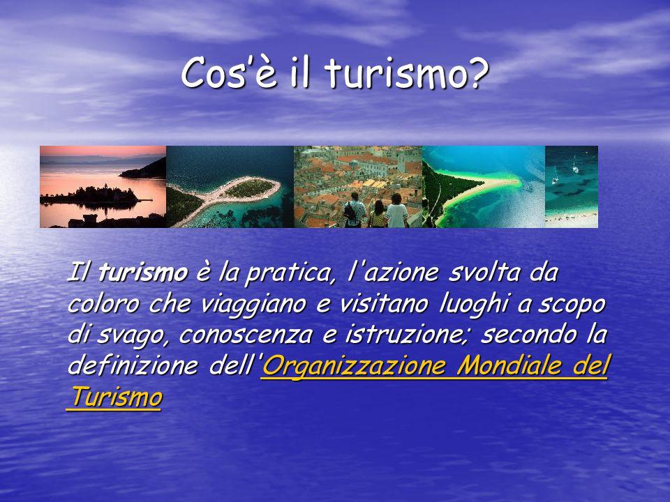 Cos'è il turismo.