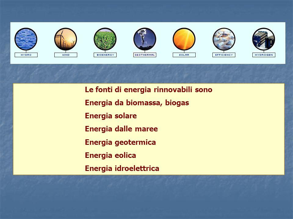 Fonti primarie utilizzate nel 2004 [ktep] petrolio metano carboni rinnovabili nuclearetotali.ktep 97.046 58.128 13.305 12.601 4.120 185.200 52,4% 31,39% 7,18% 6,8% 2,23% 100% Attualmente in Italia, per soddisfare il fabbisogno energetico, si consumano circa 185 Mtep di energia totale, utilizzando diverse fonti primarie, nella tavola seguente sono specificate le quantità di energia per singole fonti, espresse in migliaia di tonnellate equivalenti petrolio, (1 tep = 10.000.000 kcal) Energia e combustibili ottenuti dalla trasformazione delle fonti primarie En.