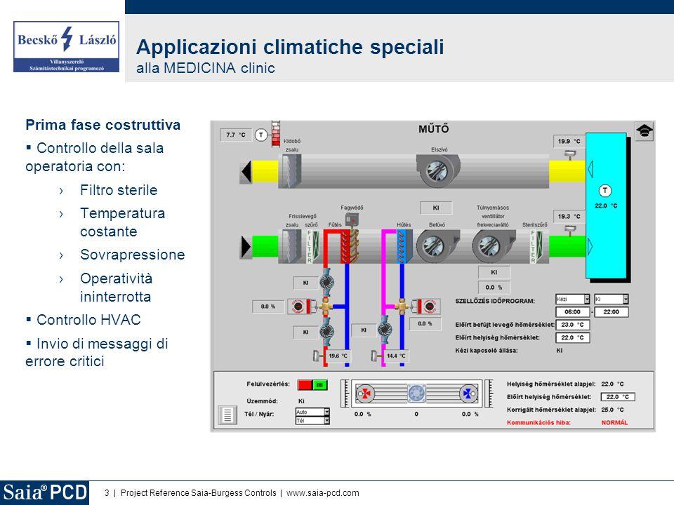 4   Project Reference Saia-Burgess Controls   www.saia-pcd.com Seconda fase costruttiva  Controllo della pompa di riscaldamento  Misura dell'energia elettrica  Raccolta di diverse altre informazioni Struttura del sistema e soluzioni verdi