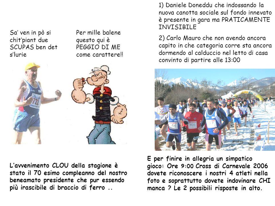 P.A.M. Podistica Amatori Mondovì e Chiusa Pesio COMICS anno II