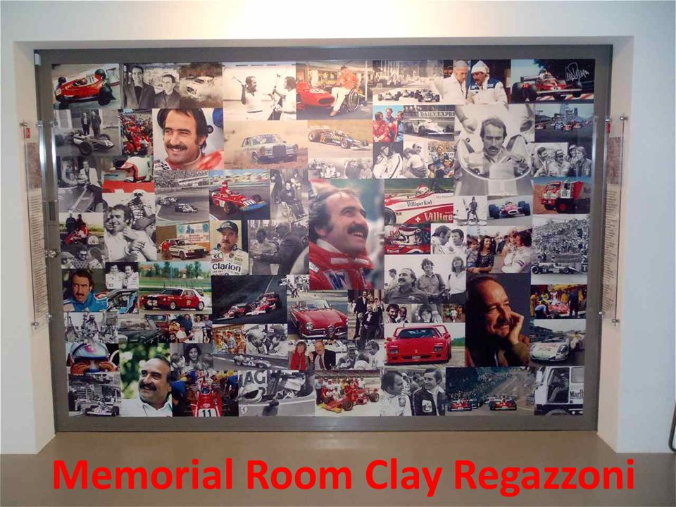 Alberto Esther Memorial Room Clay Regazzoni