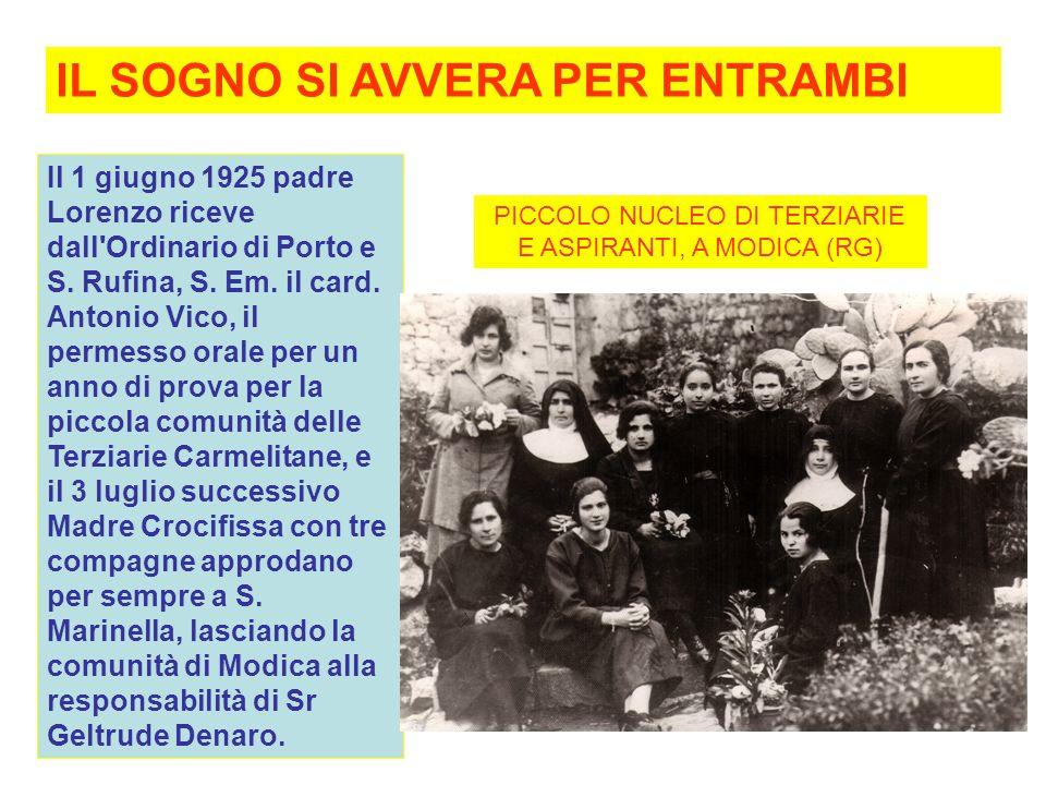 Il 1 giugno 1925 padre Lorenzo riceve dall Ordinario di Porto e S.